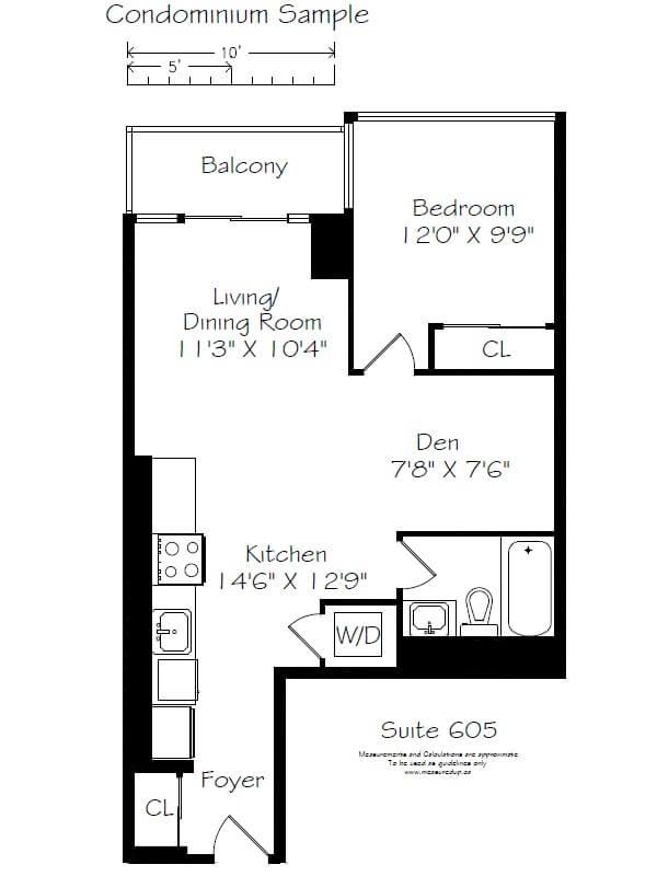 Floor plan portfolio measured up for Real estate floor plans