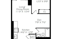 Real estate floor plan service