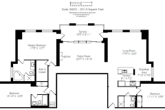 Vaughan condo floor plan