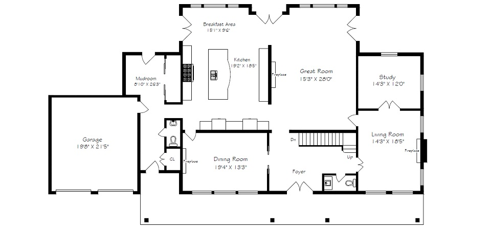 Measured up real estate floor plans measuring services for Floor plan services